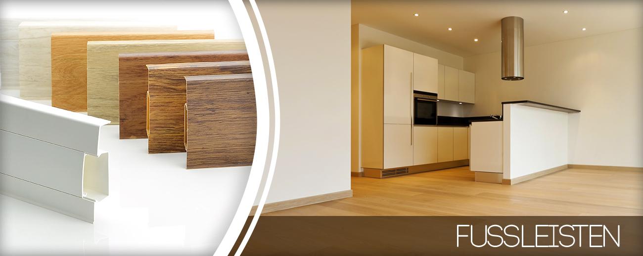 fussleisten bis 75mm sockelleisten bodenleisten mit kabelkanal montagematerial ebay. Black Bedroom Furniture Sets. Home Design Ideas